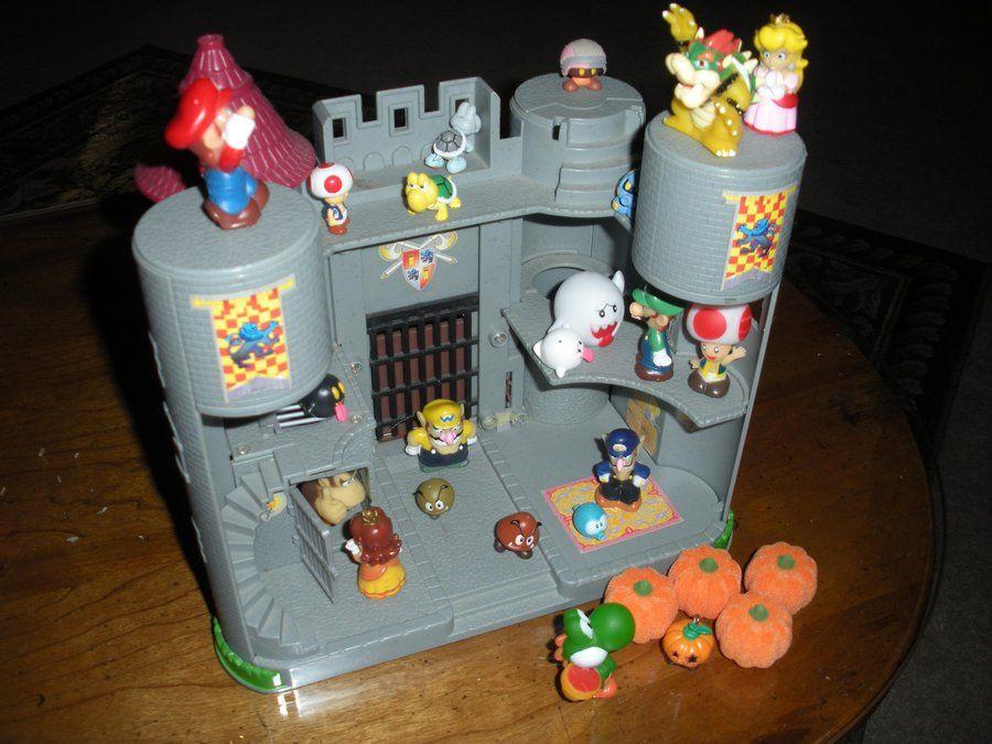 Mario Castle Google Search Mario Crafts Valentines For