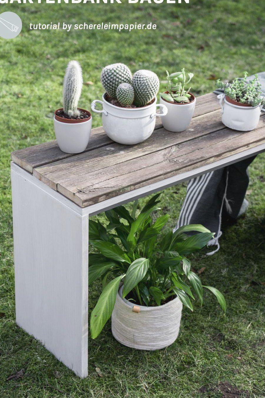 Diy Garten Mobel Diy Gartenbank Mit Altholz Bauen Upcycling Projekt Diy Wohnen Ideen Fur Den In 2020 Diy Garden Furniture Garden Bench Diy Terrace Garden Design