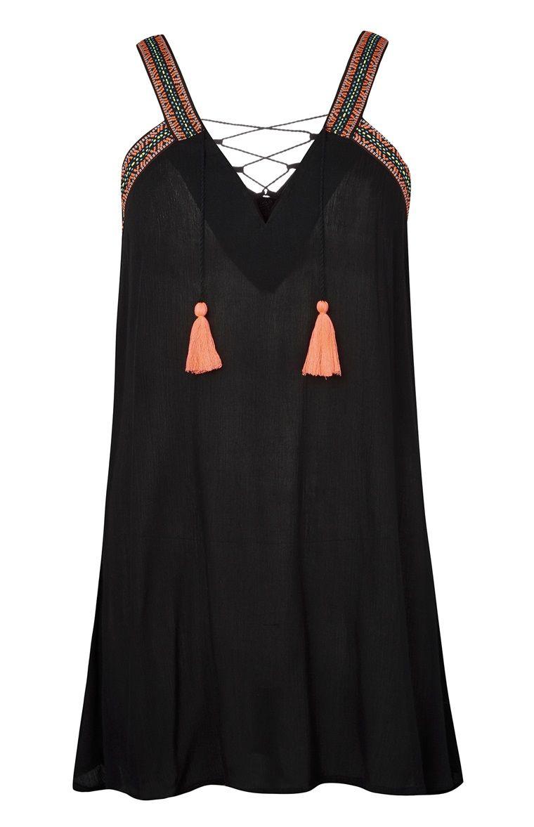 Primark - Vestido com berloques néon