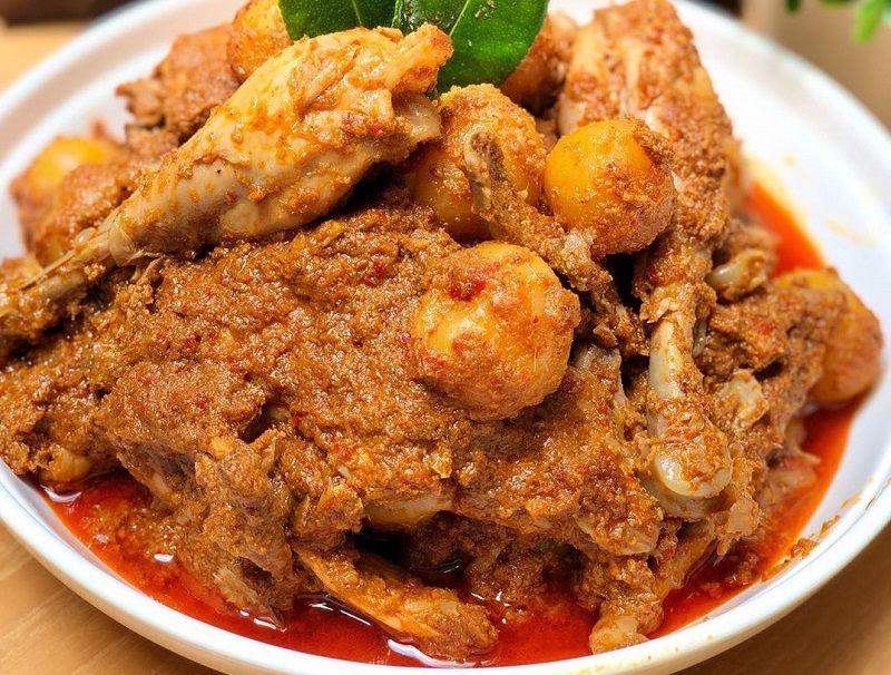 Resep Rendang Ayam Maknyus Yuk Bikin Resep Di 2020 Makanan Resep Daging Sapi