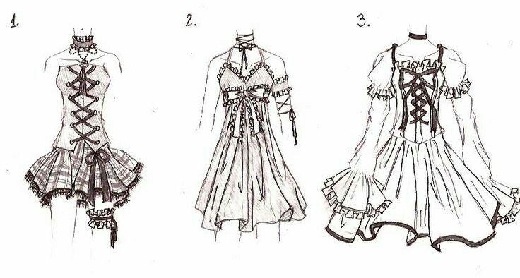 Anime Designer Dresses