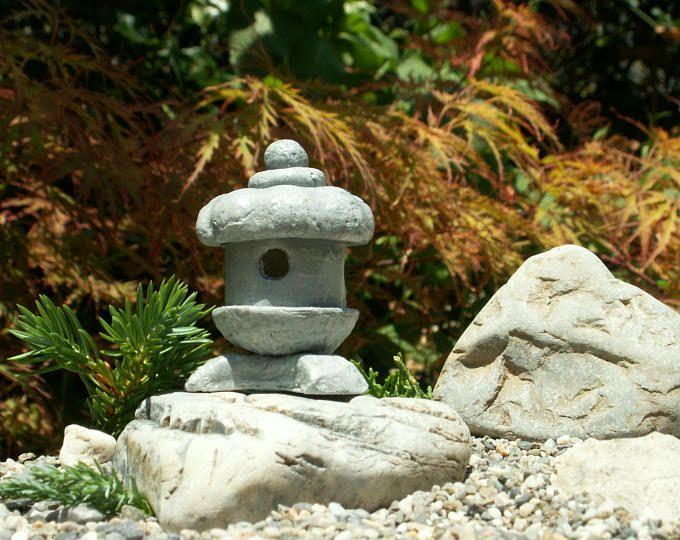Maison De Poupee Miniature Japonais Jardin Lanterne Japonaise Ornements Echelle 1 12 F Jardin Zen Miniature Miniatures Pour Maison De Poupee Maison De Poupee