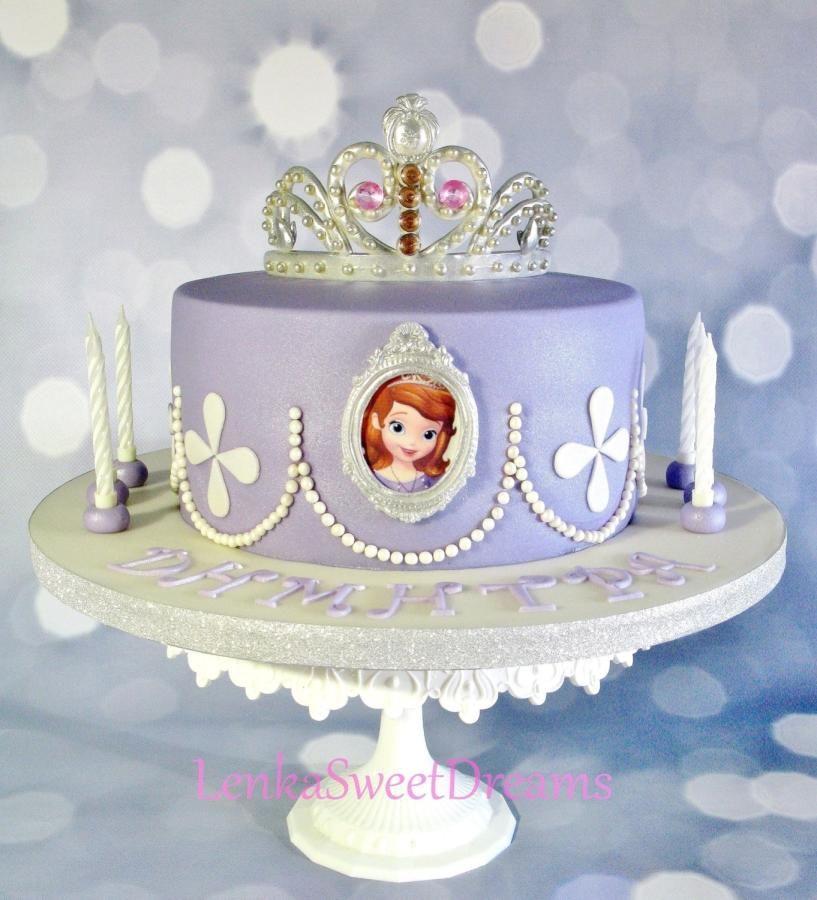 Princess Sofia Cake Cake By Lenkasweetdreams With Images