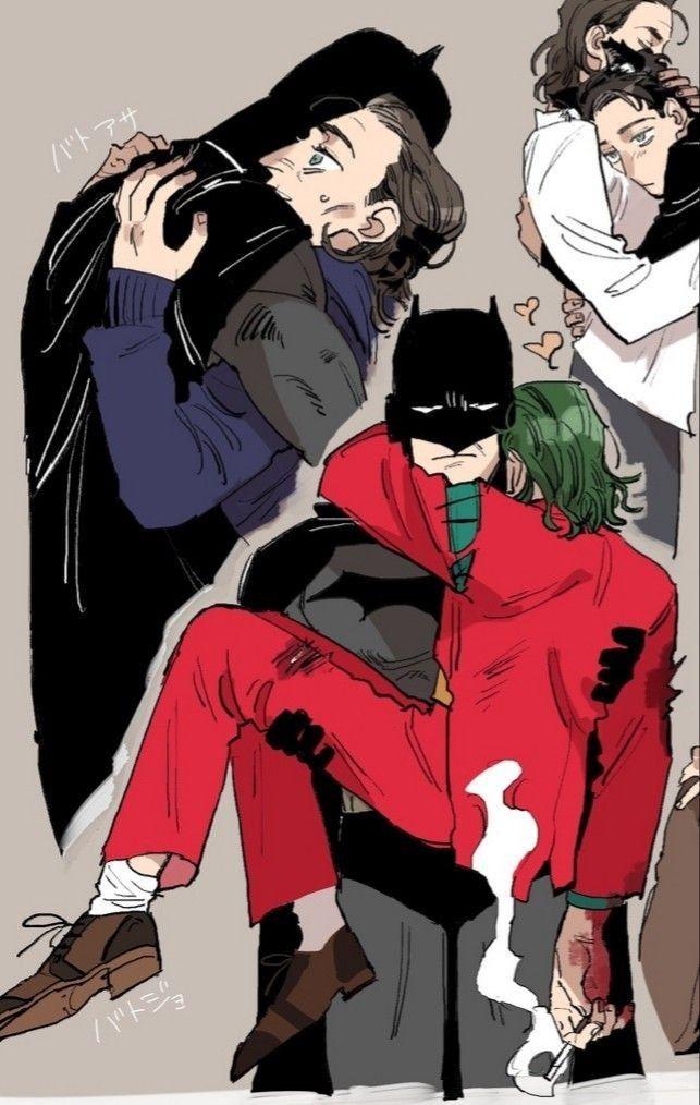 Fan-art yaoi (entre otros) de Arthur fleck (joker) ❤️