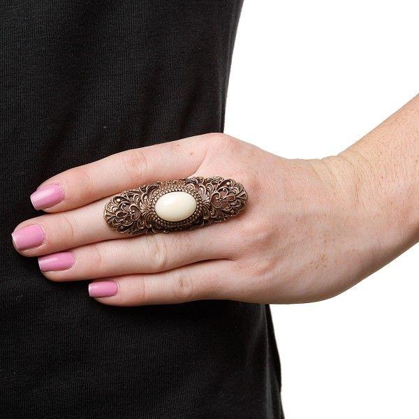 Maxi anel Relic ouro velho