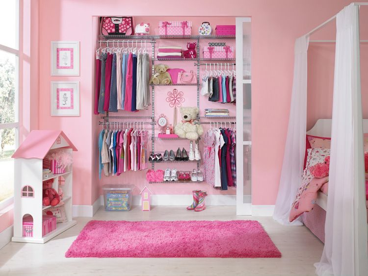 Rubbermaid Closet Configurations Are Great For Growing Kids As They Can Be Customized To Fit Their