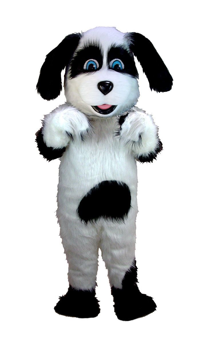 Buy Sheepdog Mascot Costume - Mask US T0082 from Costume-Shop.com - Support your Business, Team or Cause!