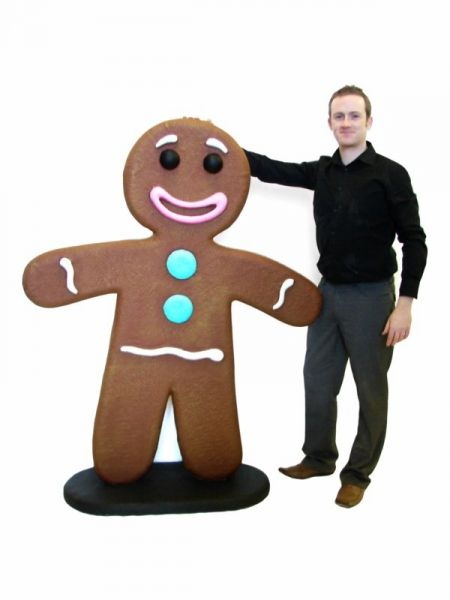 Giant Gingerbread Man Gingerbread Yards Gingerbread Decorations