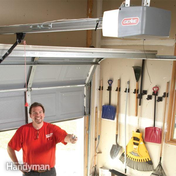How To Install A Replacement Garage Door Opener