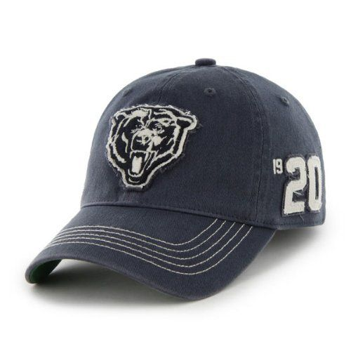 30be602d256 Chicago Bears Badger Garment Washed Flex Hat by  47 Brand  47 Brand.  25.95