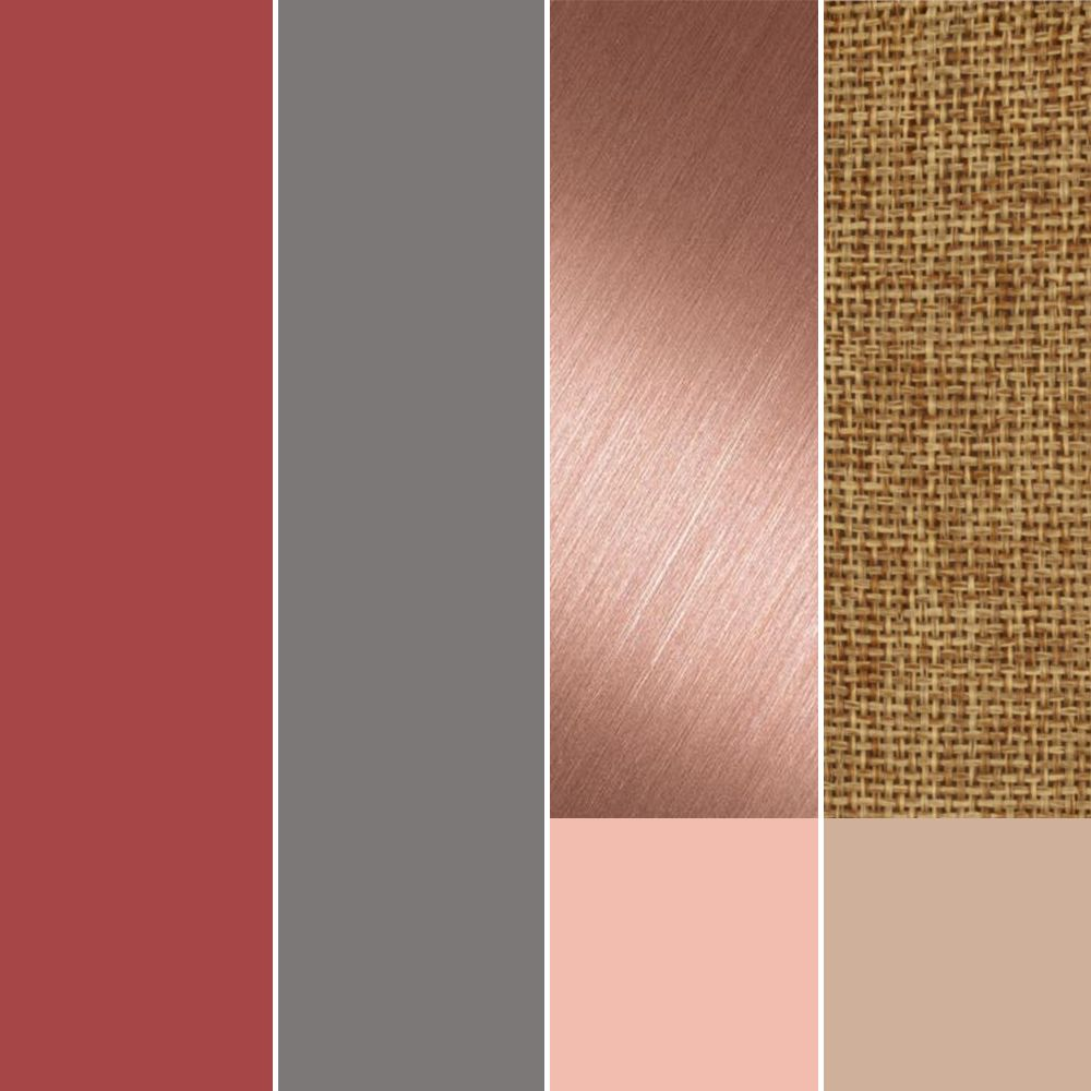 Wedding Colors -- Cranberry, Smokey Grey, Rose Gold ...