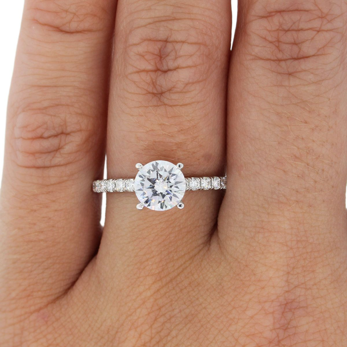 A jaffe engagement rings pave diamond setting jewelry pinterest