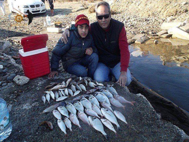 Baba oğul tekne avımızdan geriye kalanlar