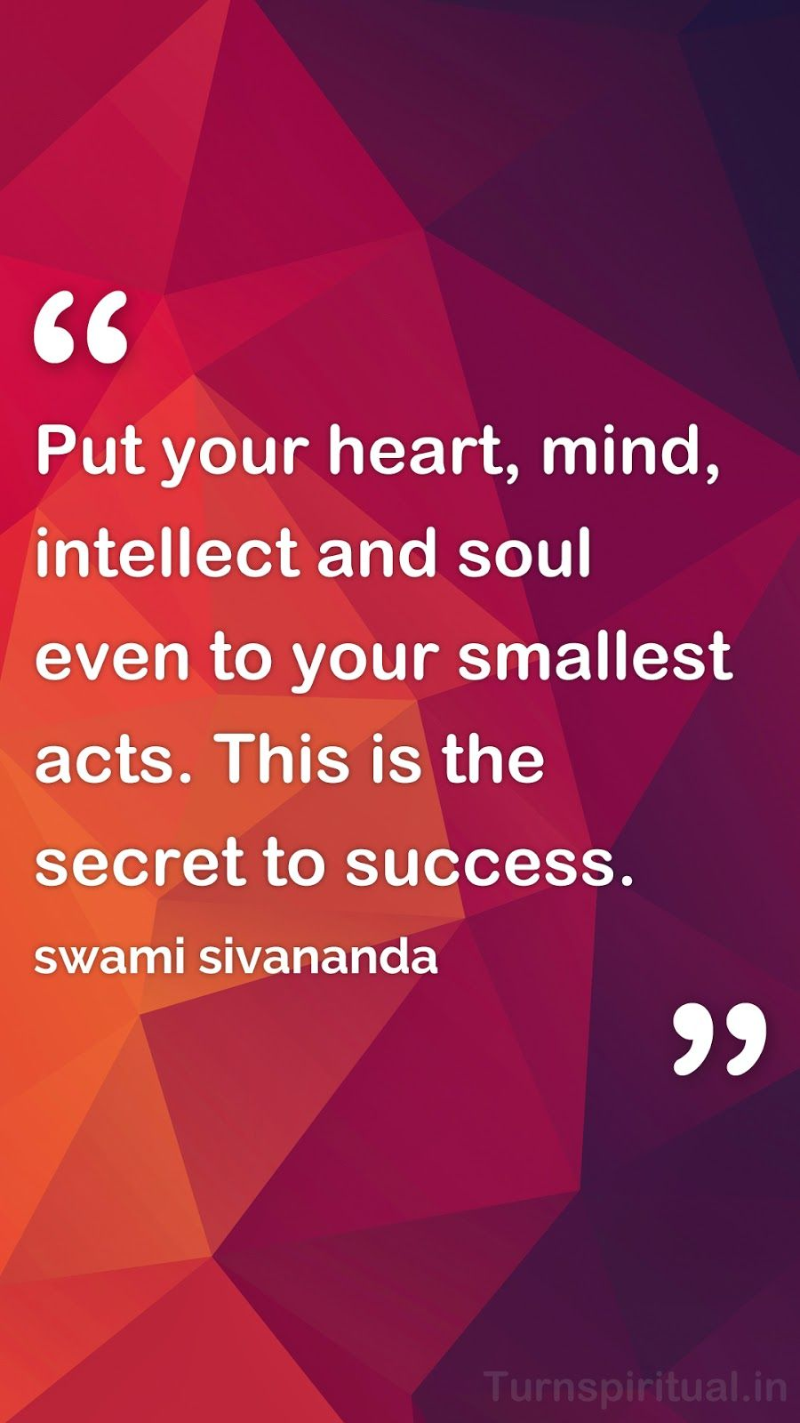 6 Lowpoly HD Mobile Wallpapers Of Swami Sivananda Quotes