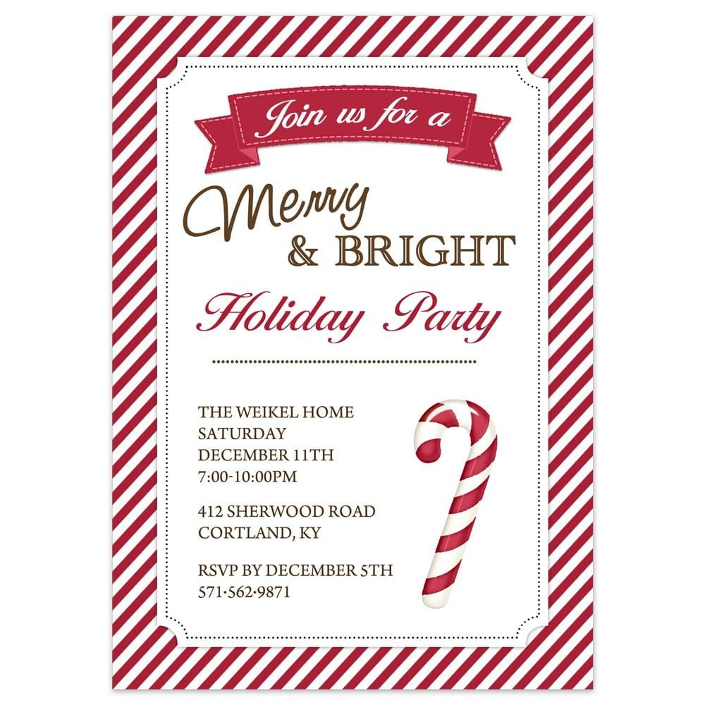 Carlton Cards Wedding Invitations: Christmas Party Invitations