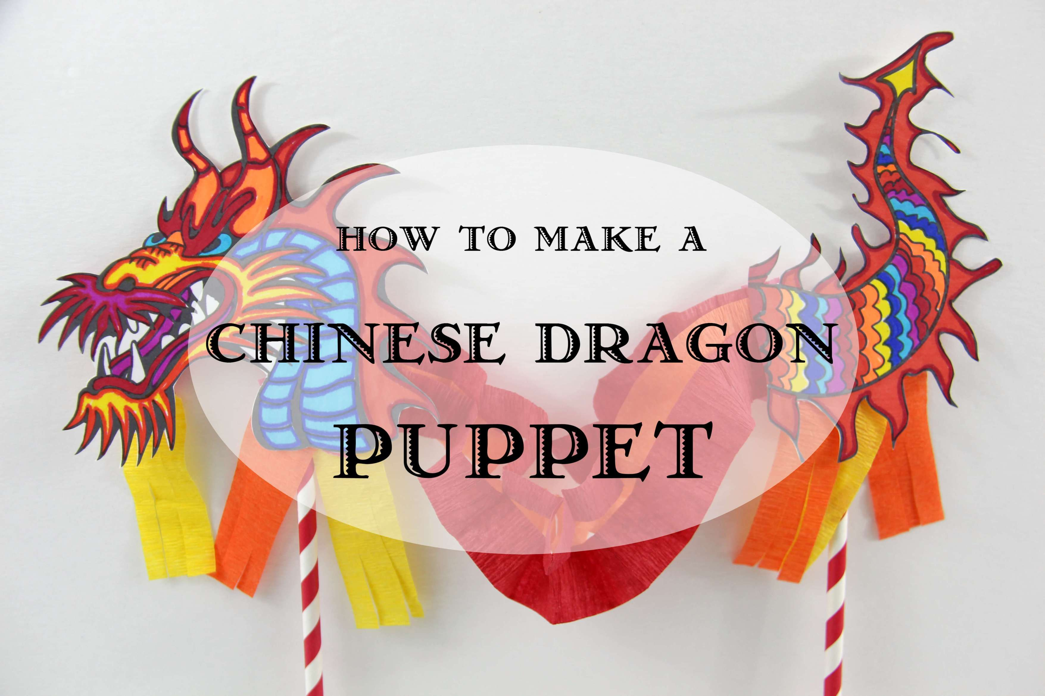 Chinese Dragon Puppet   Preschool Crafts   Chinese Kids Crafts ...