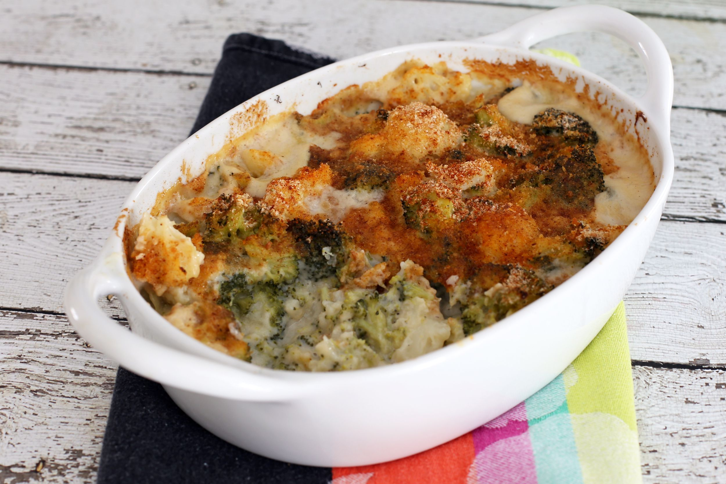 Baked Cauliflower With Parmesan Cheese Recipe Baked