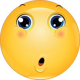 An Astonished Face With A Wide Open Mouth Gasping In Shock Or Surprise Emoticon Funny Emoticons Smiley