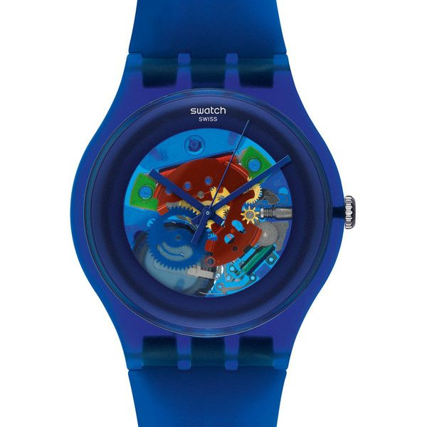 Swatch Women's Originals SUON101 Plastic Quartz Watch with Dial $70