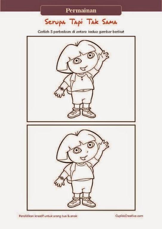 Permainan Anak - Serupa Tapi Tak Sama   Mainan anak, Anak ...