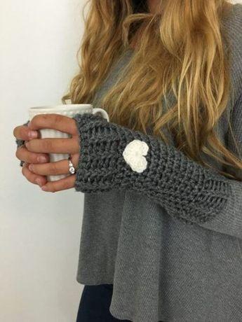 Free Crochet Pattern Loveland Fingerless Gloves Crochet Knit