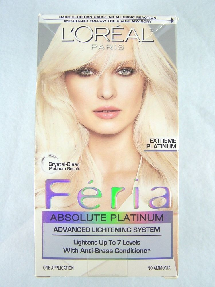 Nibloreal Parisferiaabsoluteextreme Platinumlight Blonde Hair