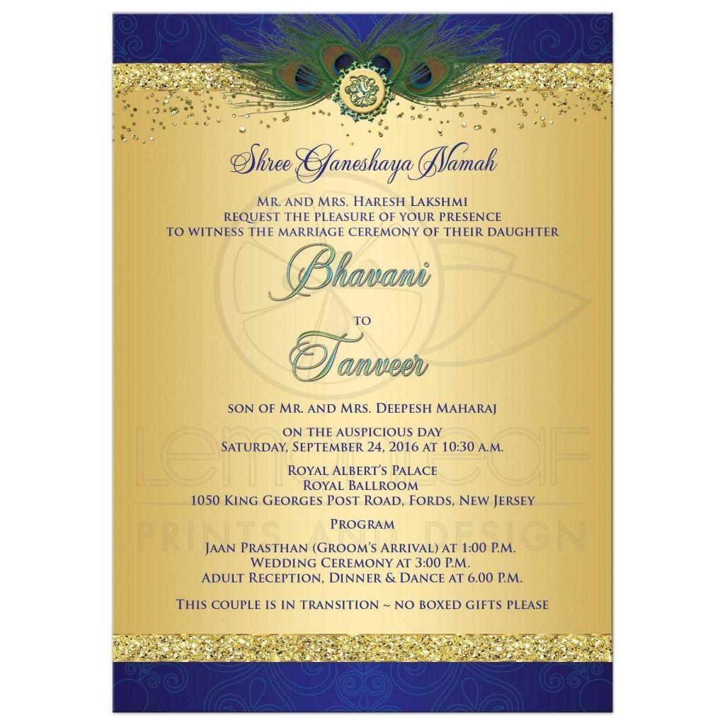 Indian Wedding Invitation Card Sample   The Big Day Is Approaching And Also  You Need To Select Wedding Invitations That Ma