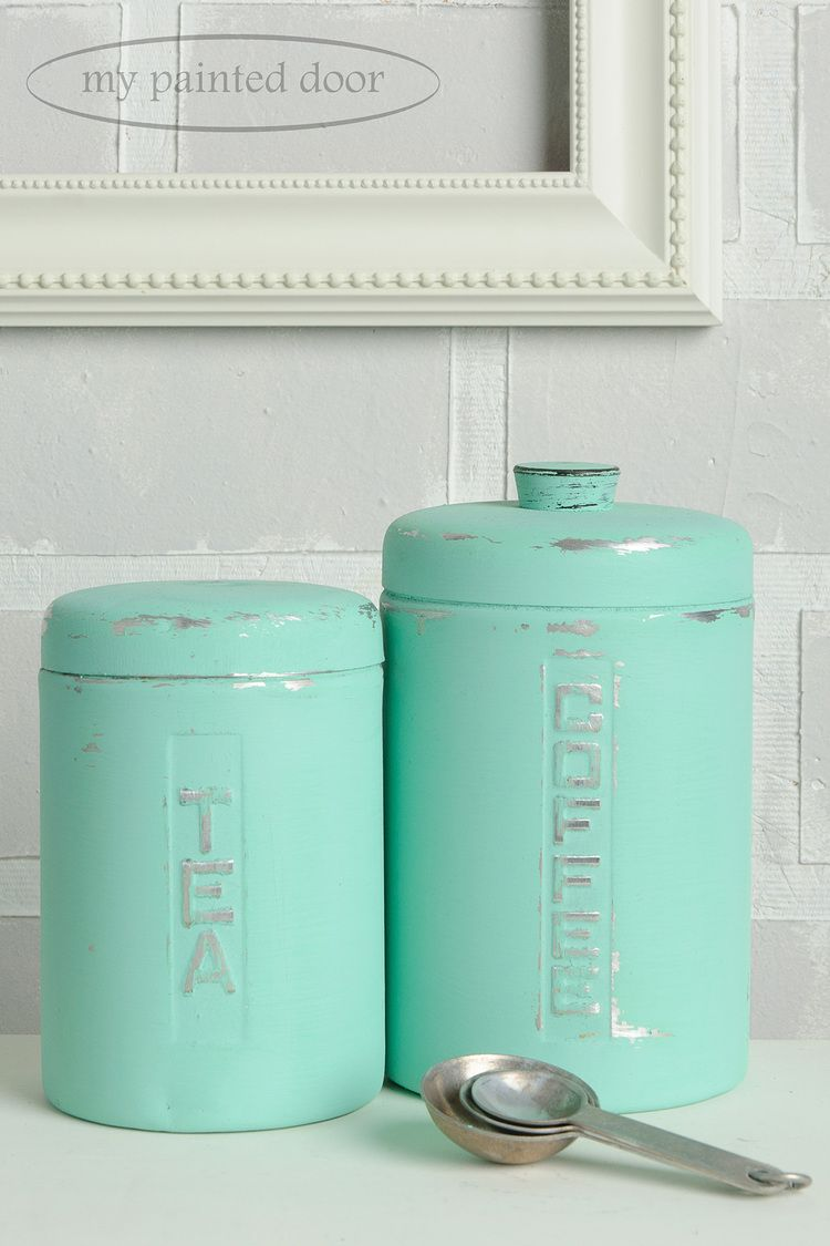 Painting on metal with Fusion Mineral Paint | Turquoise, Teal, Aqua ...