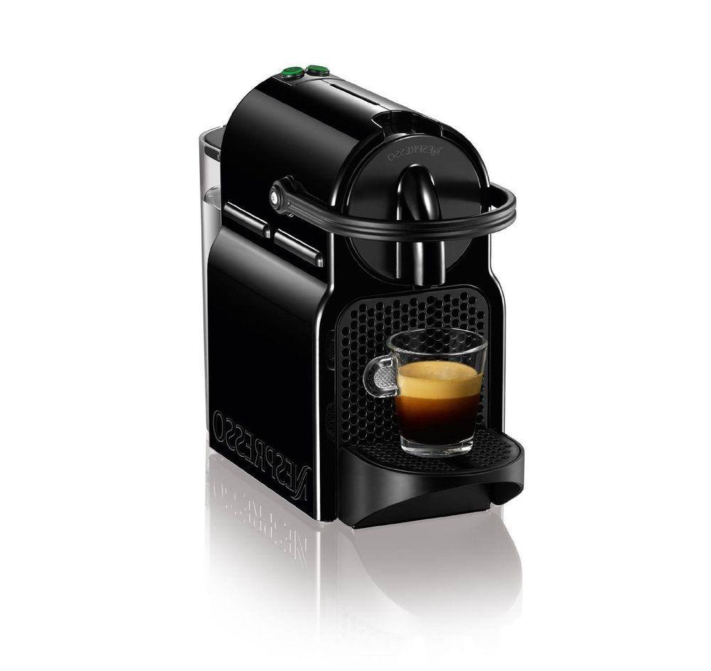 Coffee Maker Aeroccino Inissia Black New Espresso Nespresso Coffee Maker Nespresso Coffee