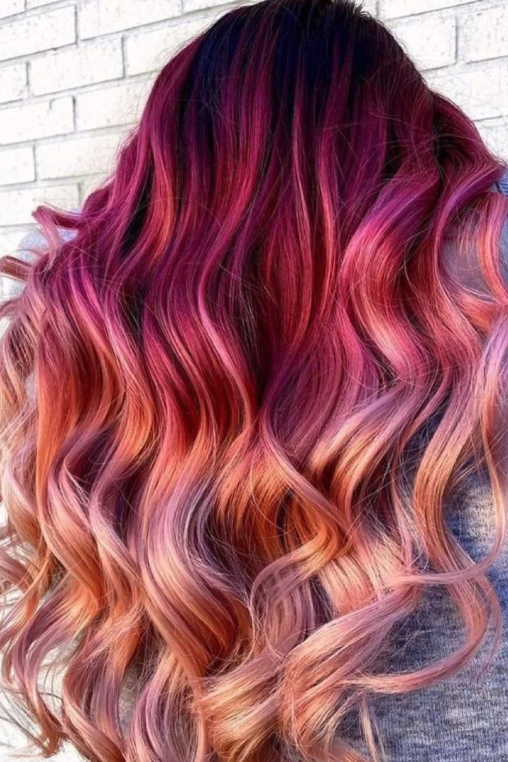 Peach Hair Color Is The Fruity Shade To Try At Any