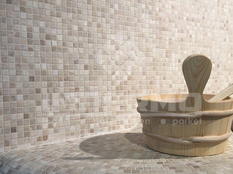 Travertin Tegels Badkamer : Travertino travertin natuursteen mozaïek natuursteen badkamer