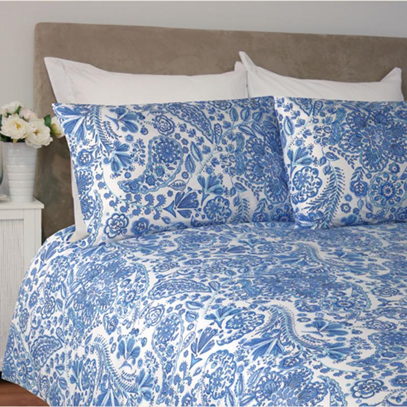 China Blue Microfibre Duvet Cover Bed Bath & Beyond