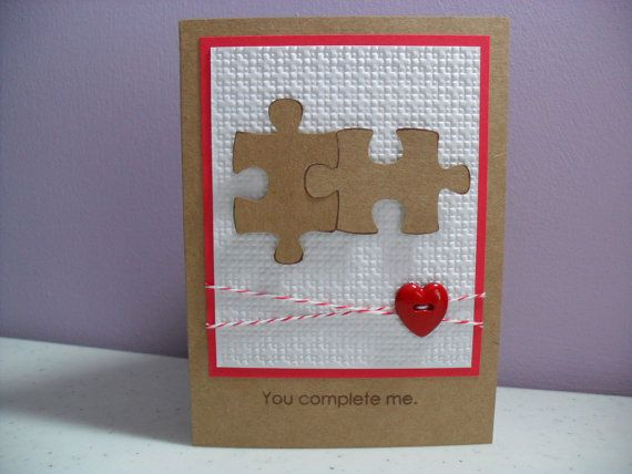 Cute anniversary valentines card etsy cards pinterest