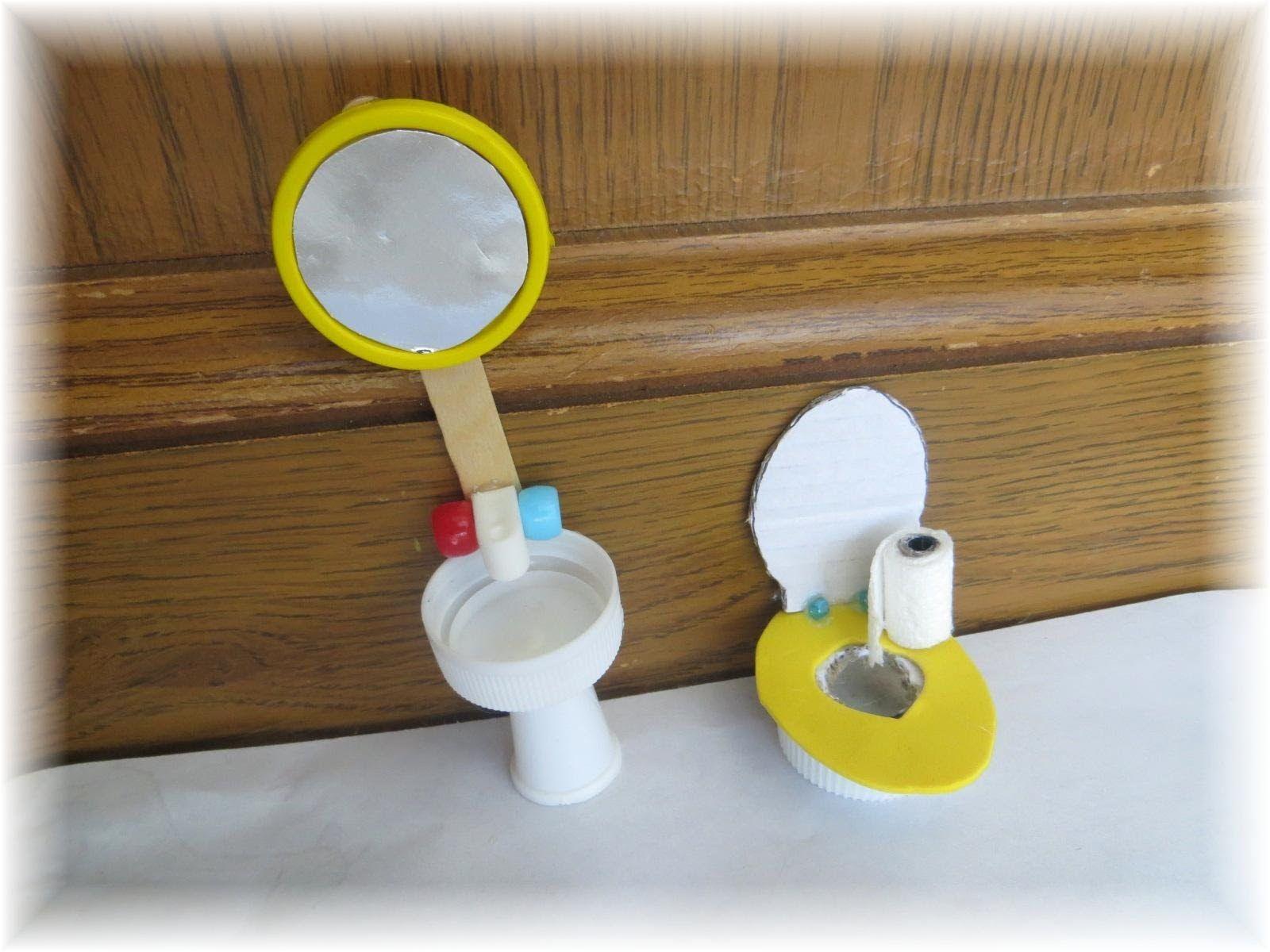 Como Hacer Un Bano Para Munecas How To Make A Doll Bathroom