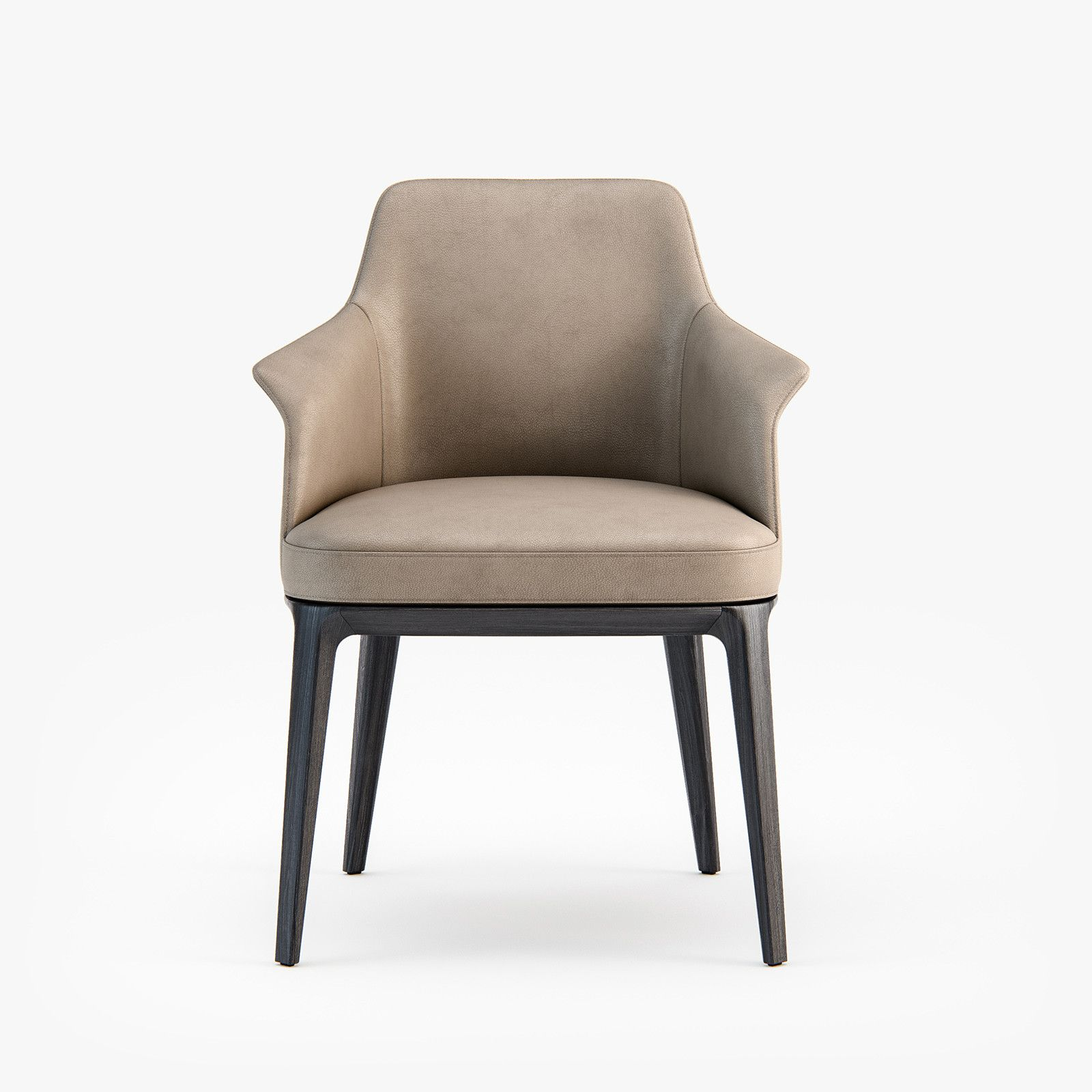 Poliform Sophie Armchair Dining Chair 3d Model Dining Chairs