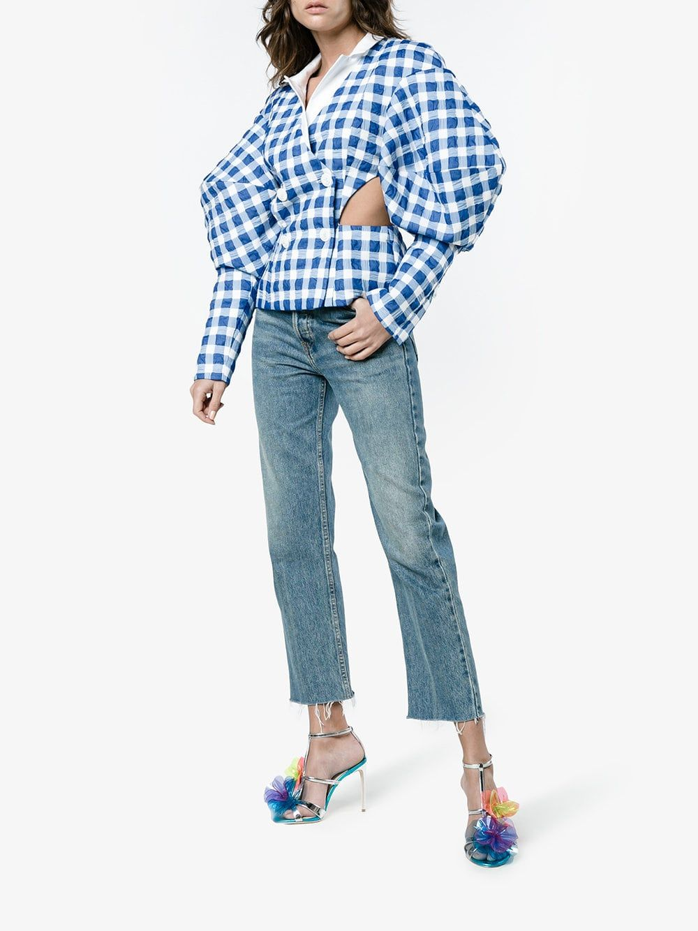 a3f2437f925 Sophia Webster jumbo lilico 100 PVC sandals