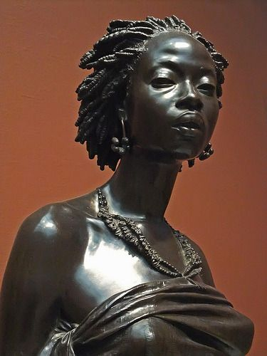 Photo of People of Color in European Art History — 1800s Week!  Charles Cordier  African Venus …