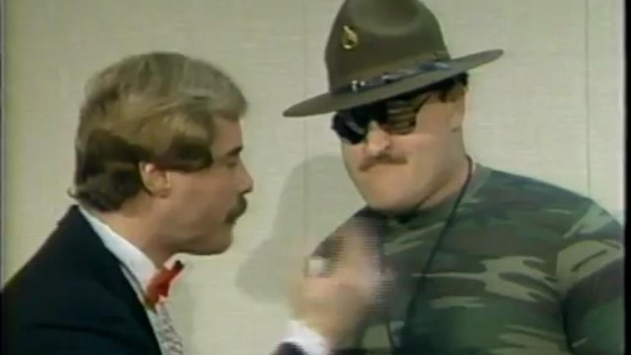 So much pileup vintage pro wrestling logos - Awa All Star Wrestling Sgt Slaughter Vhs Tape Awa Wrestling Pinterest Wrestling School And Classic