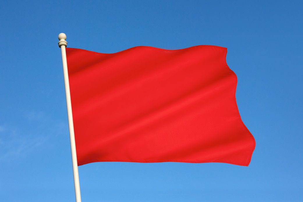 online dating profile red flags