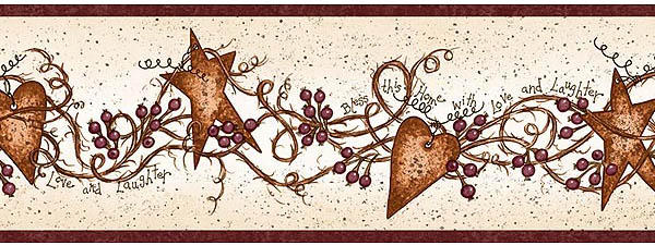 country hearts and stars kitchen decor Hearts and Stars
