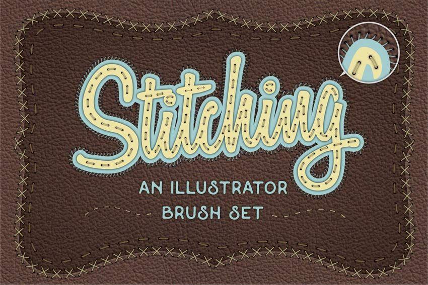 Illustrator Stitch Brushes Illustrator brushes