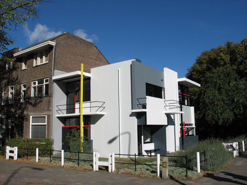 Gerrit Rietveld, Schröder House (con immagini