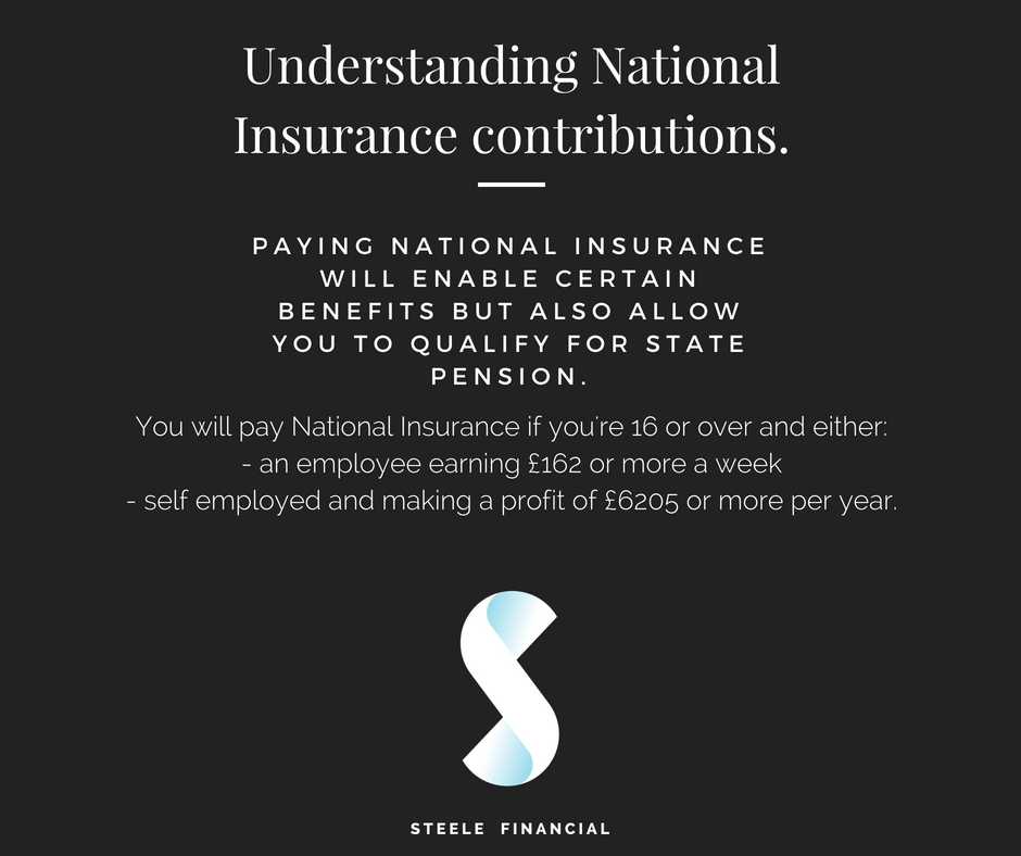 Understanding National Insurance contributions. Did you