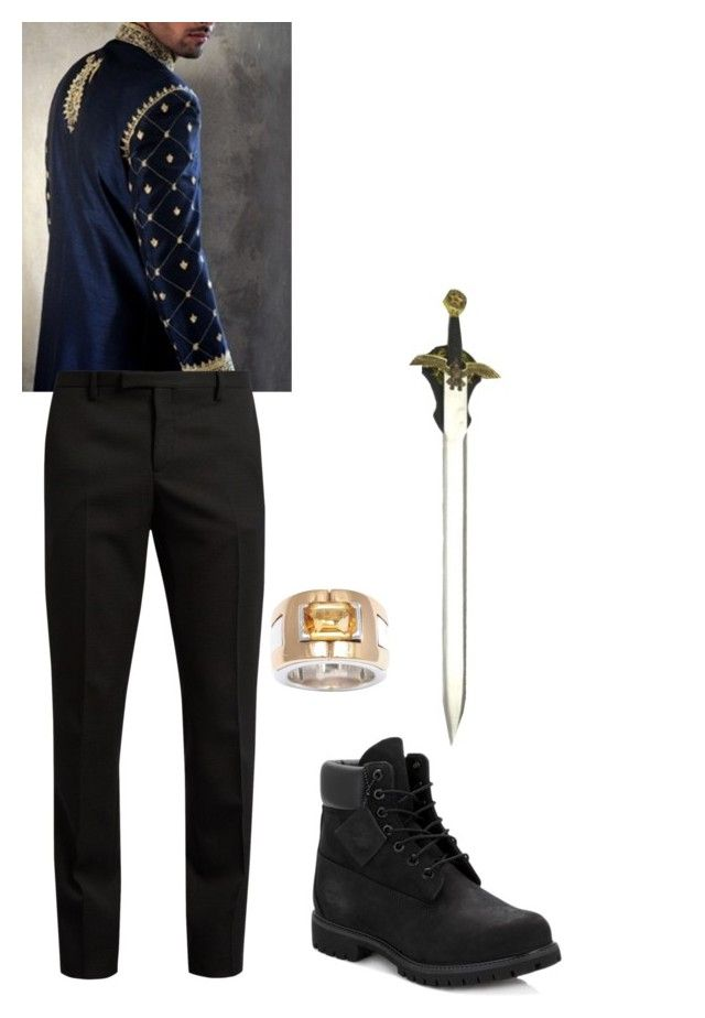 """""""Untitled #231"""" by carly-weller on Polyvore featuring Yves Saint Laurent, Timberland, Hermès, men's fashion and menswear"""