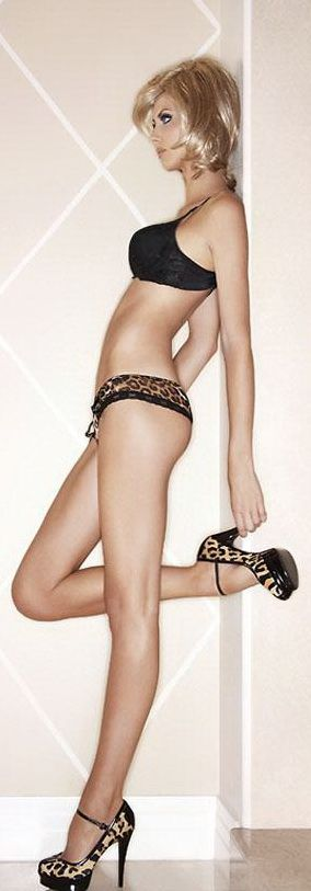 legs & heels...