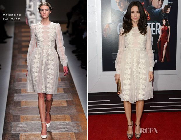 Abigail Spencer In Valentino – 'Gangster Squad' LA Premiere #redcarpet #celebrities #fashion