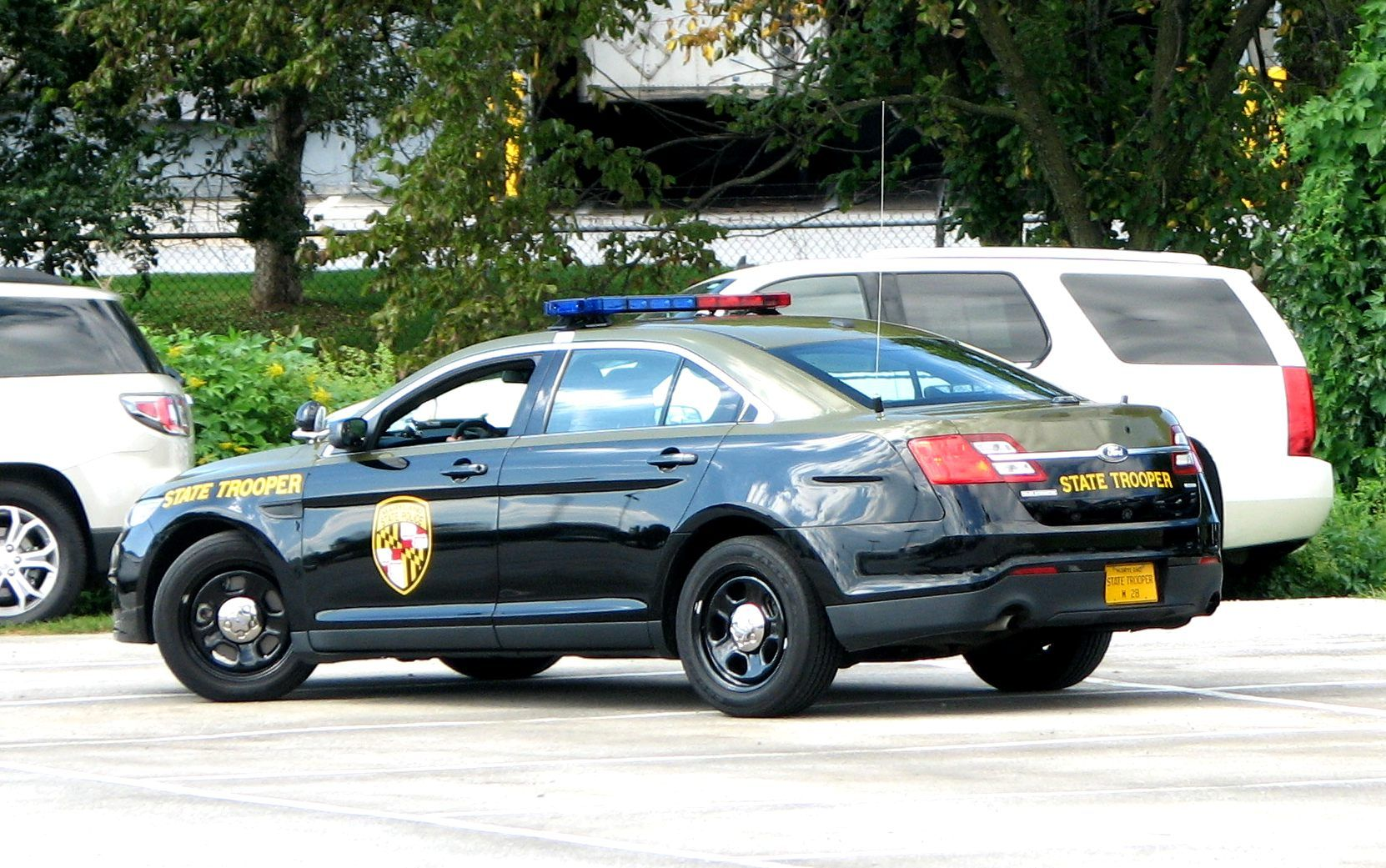 Maryland State Police Ford Interceptor Vehicle Ford Police