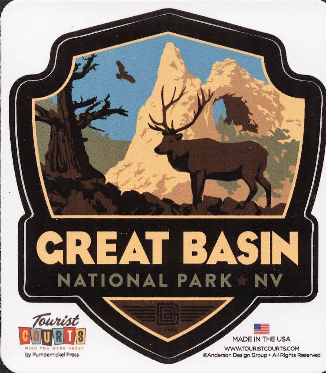 Great Basin, National Park, Nevada, National Parks Emblem