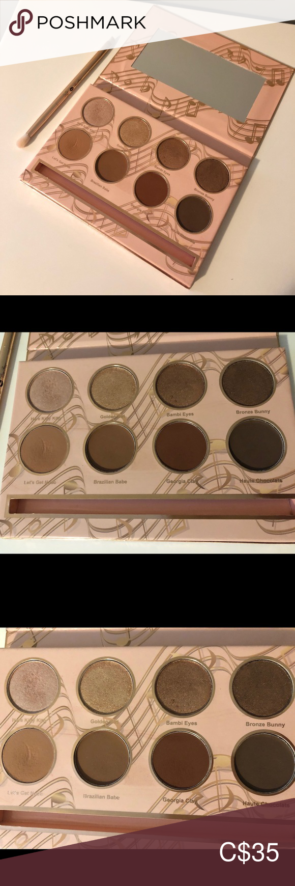 Jessie James Decker Eyeshadow Palette Jessie james