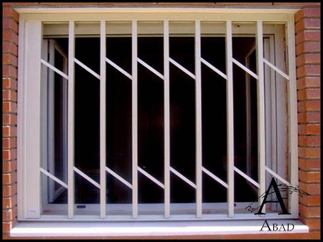 Las rejas modernas para ventanas ofrecen un estilo mas vanguardista